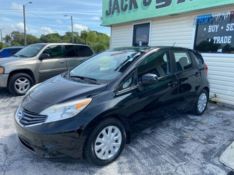 2014 Nissan Versa Note for sale at Jack's Auto Sales in Port Richey FL