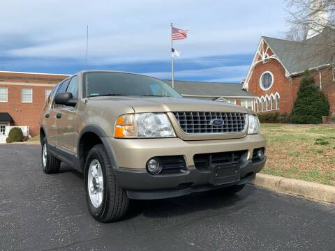 2003 Ford Explorer for sale at Automax of Eden in Eden NC