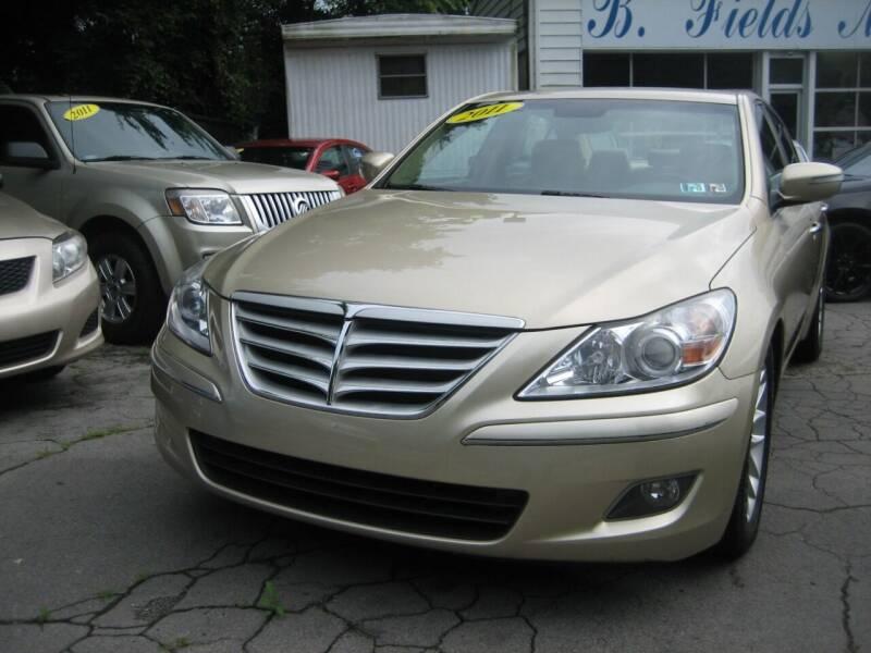 2011 Hyundai Genesis for sale at B. Fields Motors, INC in Pittsburgh PA