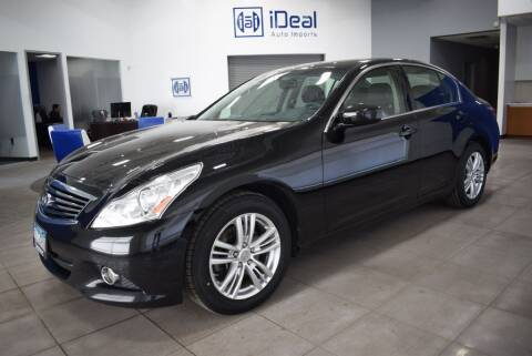 2012 Infiniti G37 Sedan for sale at iDeal Auto Imports in Eden Prairie MN