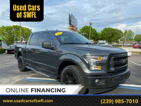 2017 Ford F-150 for sale at Used Cars of SWFL in Fort Myers FL