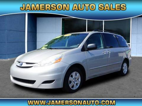 2008 Toyota Sienna for sale at Jamerson Auto Sales in Anderson IN