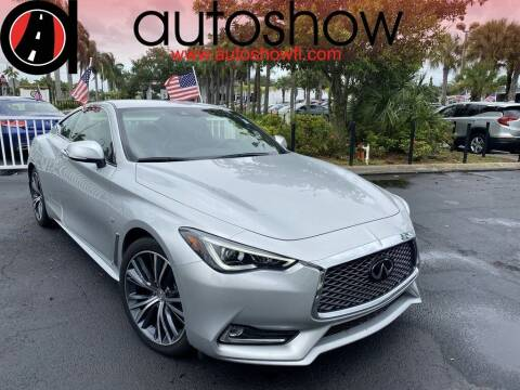 2019 Infiniti Q60 for sale at AUTOSHOW SALES & SERVICE in Plantation FL