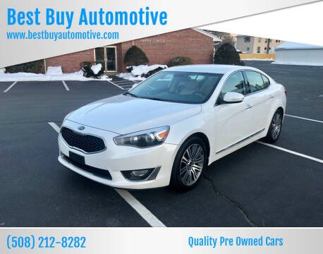 2014 Kia Cadenza for sale at Best Buy Automotive in Attleboro MA