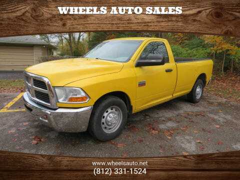 2012 RAM Ram Pickup 2500 for sale at Wheels Auto Sales in Bloomington IN