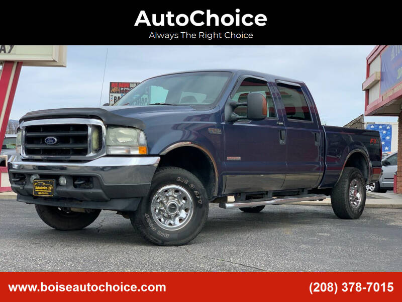 2004 Ford F-250 Super Duty for sale at AutoChoice in Boise ID