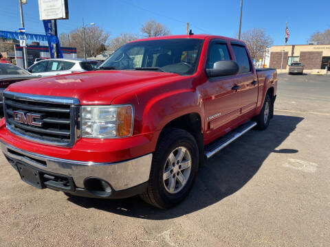 2009 GMC Sierra 1500 for sale at PYRAMID MOTORS AUTO SALES in Florence CO