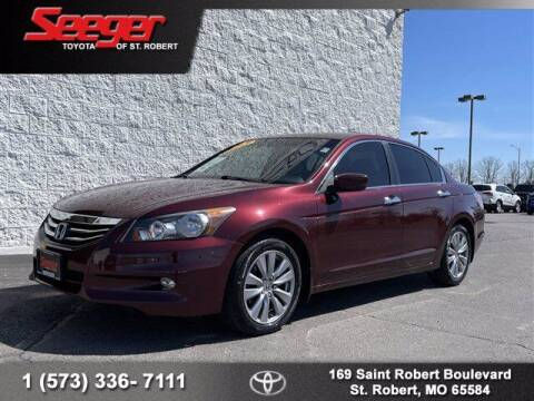 2012 Honda Accord for sale at SEEGER TOYOTA OF ST ROBERT in St Robert MO