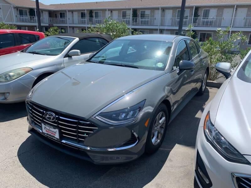 2021 Hyundai Sonata for sale at Boulevard Motors in Saint George UT