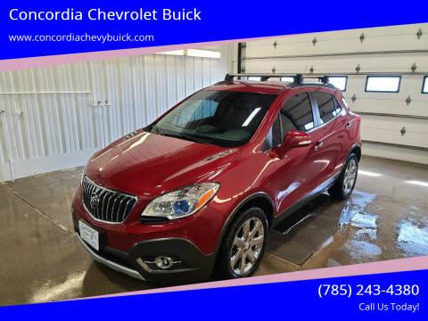 2016 Buick Encore for sale at Concordia Chevrolet Buick in Concordia KS