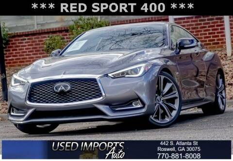 2019 Infiniti Q60 for sale at Used Imports Auto in Roswell GA