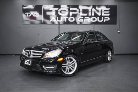 2012 Mercedes-Benz C-Class for sale at TOPLINE AUTO GROUP in Kent WA