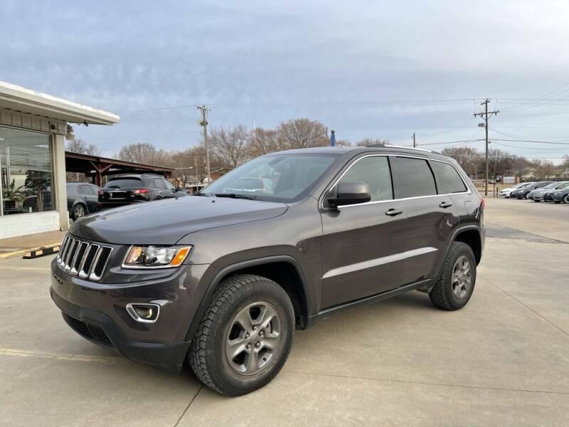 2015 Jeep Grand Cherokee for sale at Kansas Auto Sales in Wichita KS