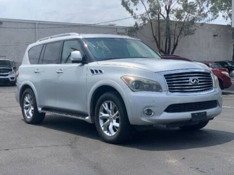 2012 Infiniti QX56 for sale at Curry's Cars Powered by Autohouse - Brown & Brown Wholesale in Mesa AZ