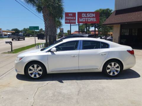 2011 Buick LaCrosse for sale at Olson Motors LLC in Saint Augustine FL