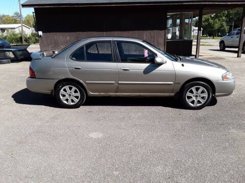 2005 Nissan Sentra for sale at Riverview Auto's, LLC in Manchester OH