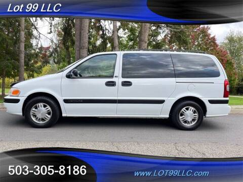 2001 Chevrolet Venture for sale at LOT 99 LLC in Milwaukie OR