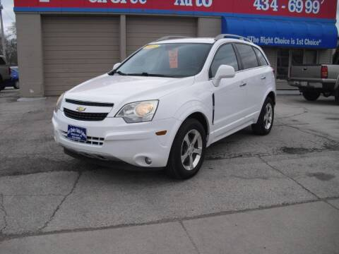 2014 Chevrolet Captiva Sport for sale at 1st Choice Auto Inc in Green Bay WI