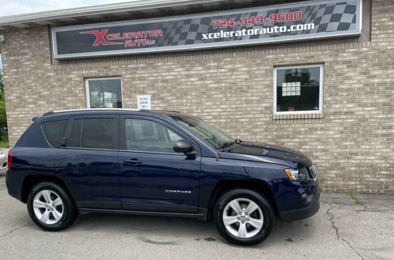 2014 Jeep Compass for sale at Xcelerator Auto LLC in Indiana PA