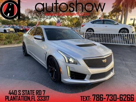 2017 Cadillac CTS-V for sale at AUTOSHOW SALES & SERVICE in Plantation FL