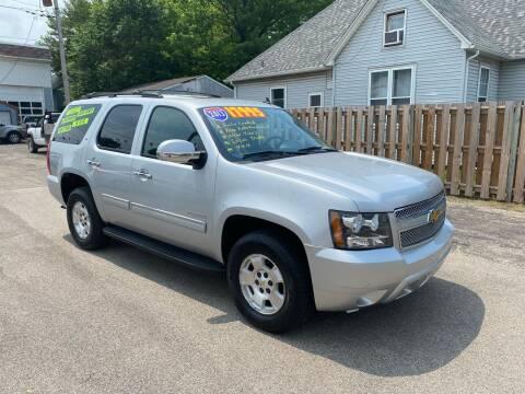 2013 Chevrolet Tahoe for sale at PEKIN DOWNTOWN AUTO SALES in Pekin IL