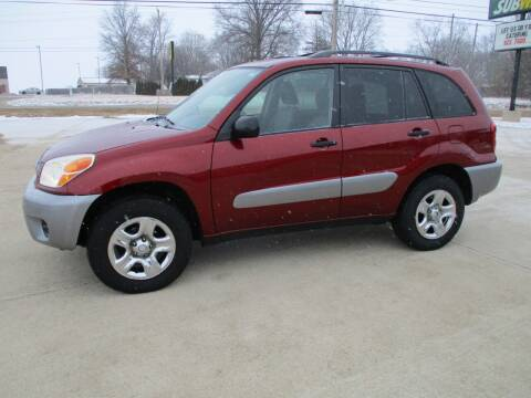 2004 Toyota RAV4 for sale at Crossroads Used Cars Inc. in Tremont IL