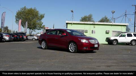 2011 Buick LaCrosse for sale at Westland Auto Sales on 7th in Fresno CA