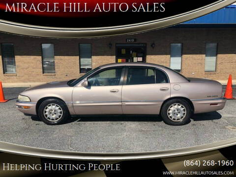 1999 Buick Park Avenue for sale at MIRACLE HILL AUTO SALES in Greenville SC