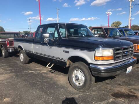 1993 Ford F-250 for sale at FIREBALL MOTORS LLC in Lowellville OH