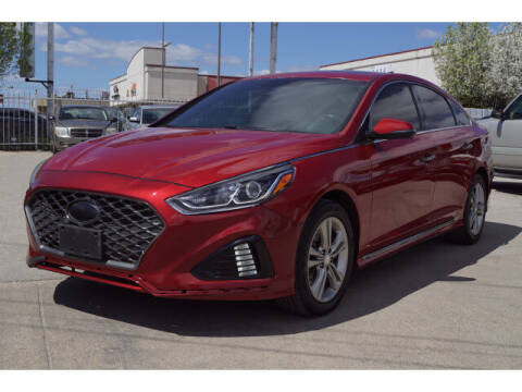 2018 Hyundai Sonata for sale at Credit Connection Sales in Fort Worth TX