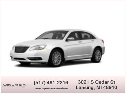 2012 Chrysler 200 for sale at Capitol Auto Sales in Lansing MI