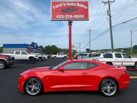 2019 Chevrolet Camaro for sale at Ford's Auto Sales in Kingsport TN
