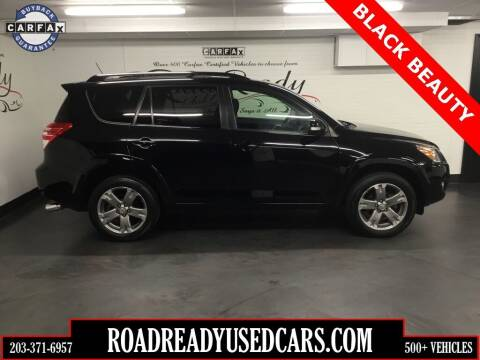 2012 Toyota RAV4 for sale at Road Ready Used Cars in Ansonia CT
