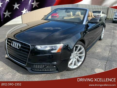 2016 Audi A5 for sale at Driving Xcellence in Jeffersonville IN