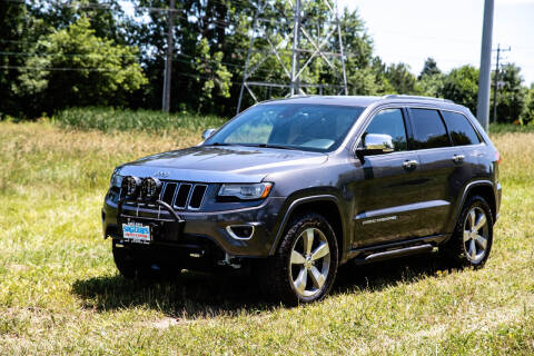 2014 Jeep Grand Cherokee for sale at Siglers Auto Center in Skokie IL