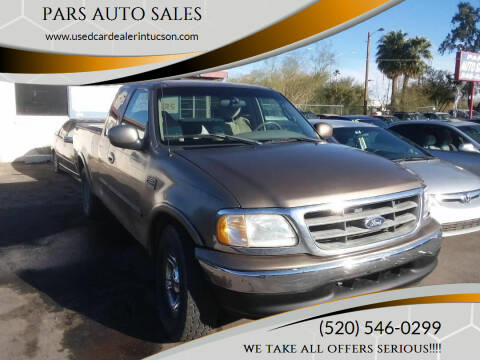 2001 Ford F-150 for sale at PARS AUTO SALES in Tucson AZ