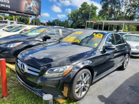 2016 Mercedes-Benz C-Class for sale at America Auto Wholesale Inc in Miami FL