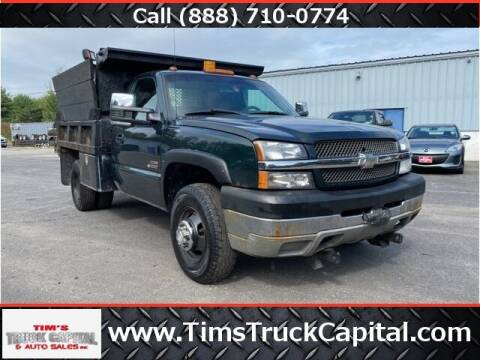 2003 Chevrolet Silverado 3500 for sale at TTC AUTO OUTLET/TIM'S TRUCK CAPITAL & AUTO SALES INC ANNEX in Epsom NH