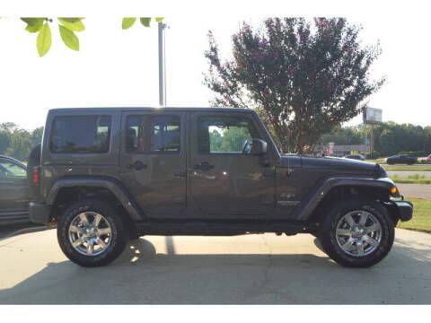 2017 Jeep Wrangler Unlimited for sale at BLACKBURN MOTOR CO in Vicksburg MS
