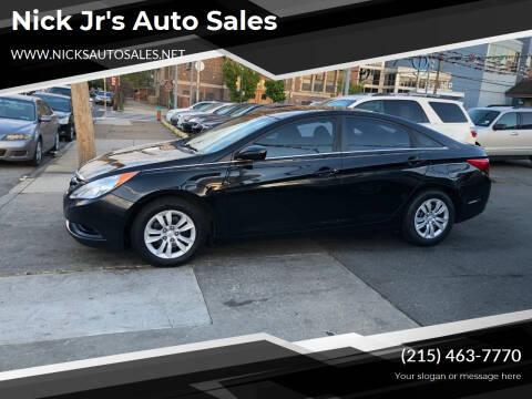 2012 Hyundai Sonata for sale at Nick Jr's Auto Sales in Philadelphia PA