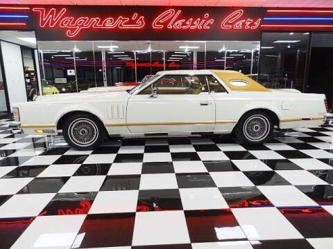 1978 Lincoln Continental for sale at Wagner's Classic Cars in Bonner Springs KS