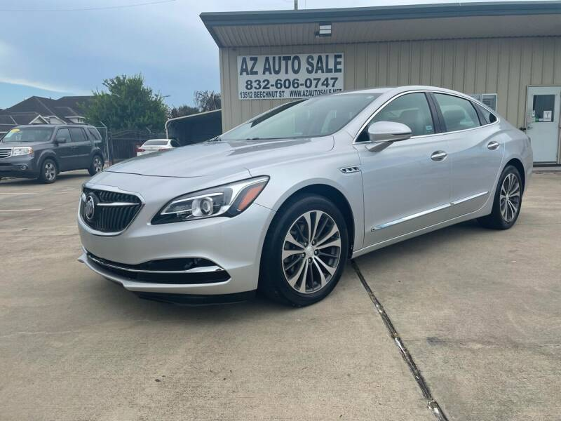 2017 Buick LaCrosse for sale at AZ Auto Sale in Houston TX