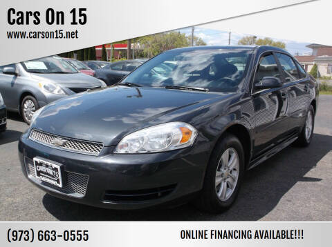 2012 Chevrolet Impala for sale at Cars On 15 in Lake Hopatcong NJ