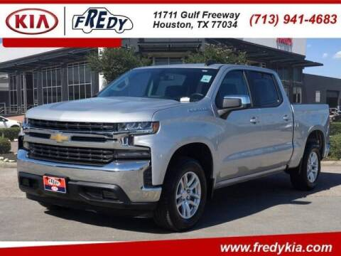 2020 Chevrolet Silverado 1500 for sale at FREDYS CARS FOR LESS in Houston TX