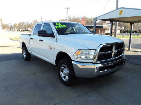 2012 RAM Ram Pickup 2500 for sale at J & L Sales LLC in Topeka KS