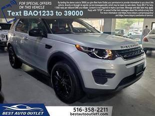 2017 Land Rover Discovery Sport for sale at Best Auto Outlet in Floral Park NY