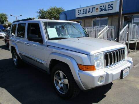 2010 Jeep Commander for sale at Salem Auto Sales in Sacramento CA