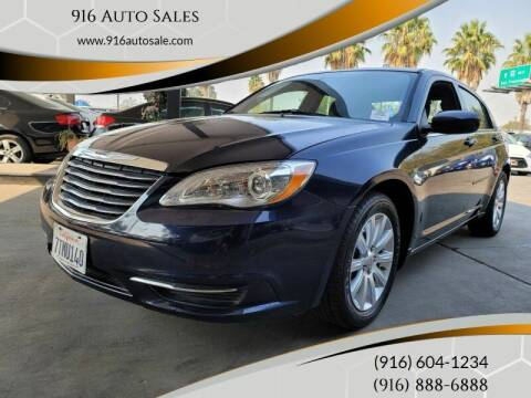 2013 Chrysler 200 for sale at 916 Auto Sales in Sacramento CA