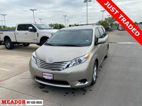 2017 Toyota Sienna for sale at Meador Dodge Chrysler Jeep RAM in Fort Worth TX