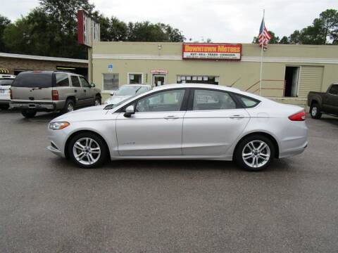 2018 Ford Fusion Hybrid for sale at DERIK HARE in Milton FL